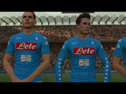 MILAN VS NAPOLI | FIFA 17 (Xbox One) Full Game