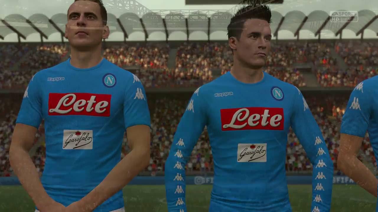 Milan vs napoli fifa 17 xbox one full game youtube for Fifa 17 milan