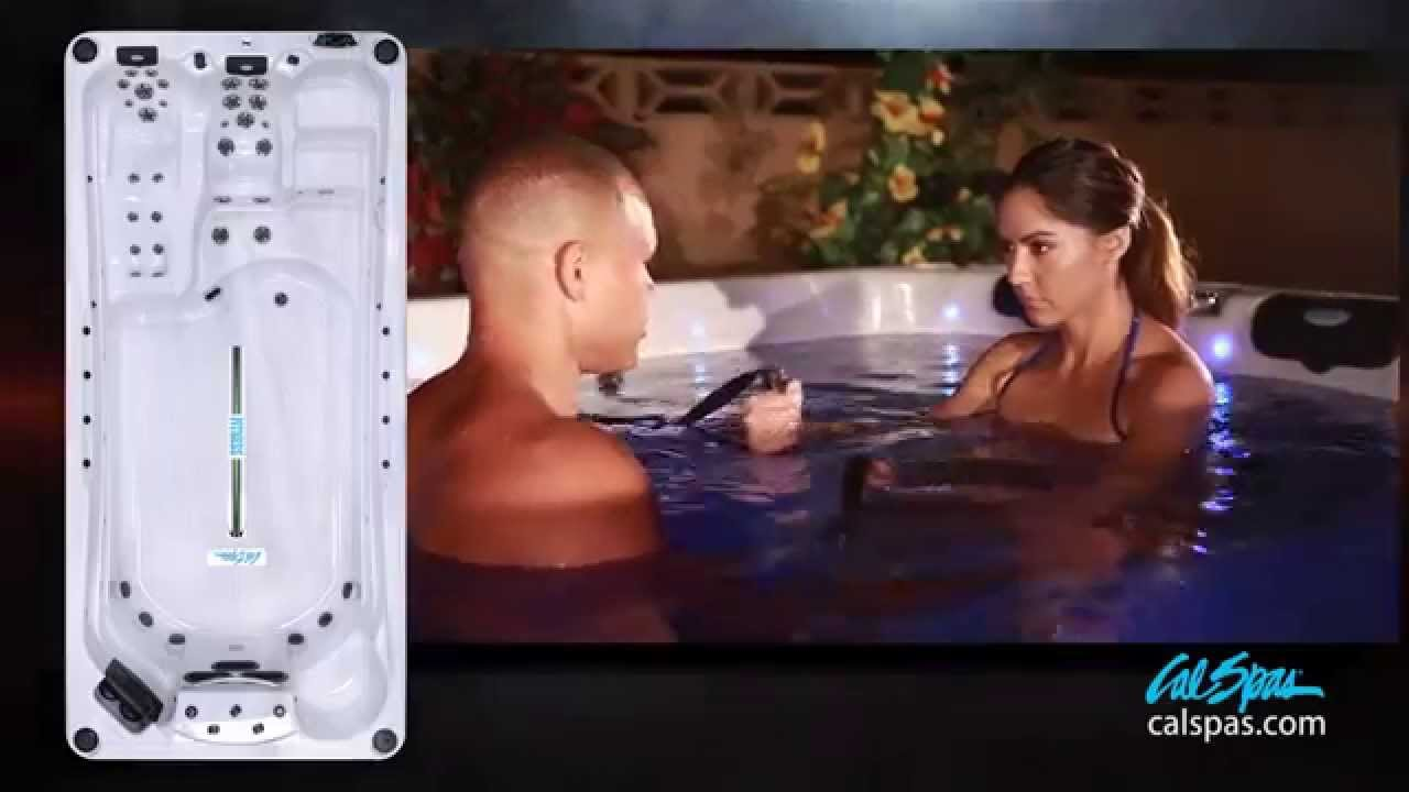 cal spas ultimate fitness swim spas the cal flex system. Black Bedroom Furniture Sets. Home Design Ideas