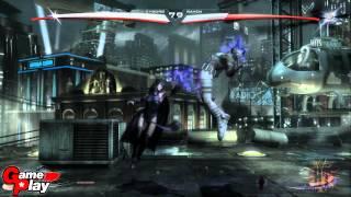 Injustice gods Among Us: Teen Titans (Cyborg vs Raven)