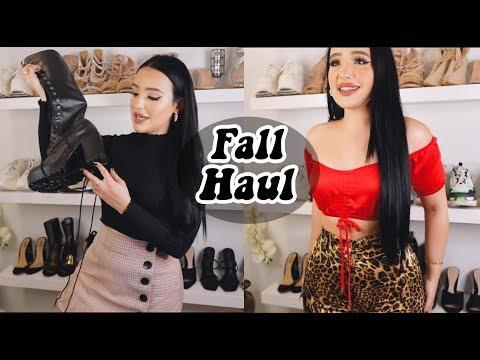 FALL CLOTHING HAUL (TRY ON) | Amanda Ensing thumbnail
