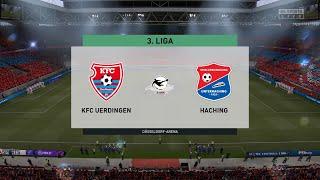 Fifa 21   kfc uerdingen vs unterhaching - germany 3.liga 14/11/2020 1080p 60fps