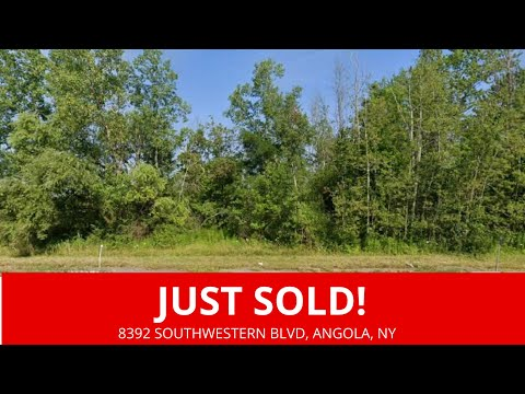 Just Sold By WeSellNewYorkLand.com - Evans, New York Land For Sale Erie County