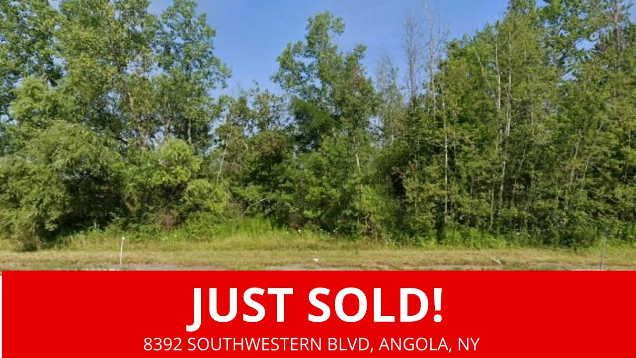 Just Sold By WeSellNewYorkLand.com - Cheap Land For Sale 8392 Southwestern Blvd, Angola, NY