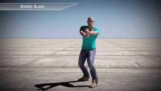 Sword Slash - 3d Motion Capture FBX