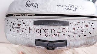 Koffer versieren met bruidslocatie   Vloggloss 1010