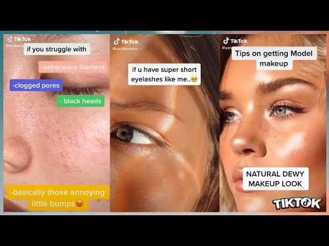 beauty hacks tik tok compilation