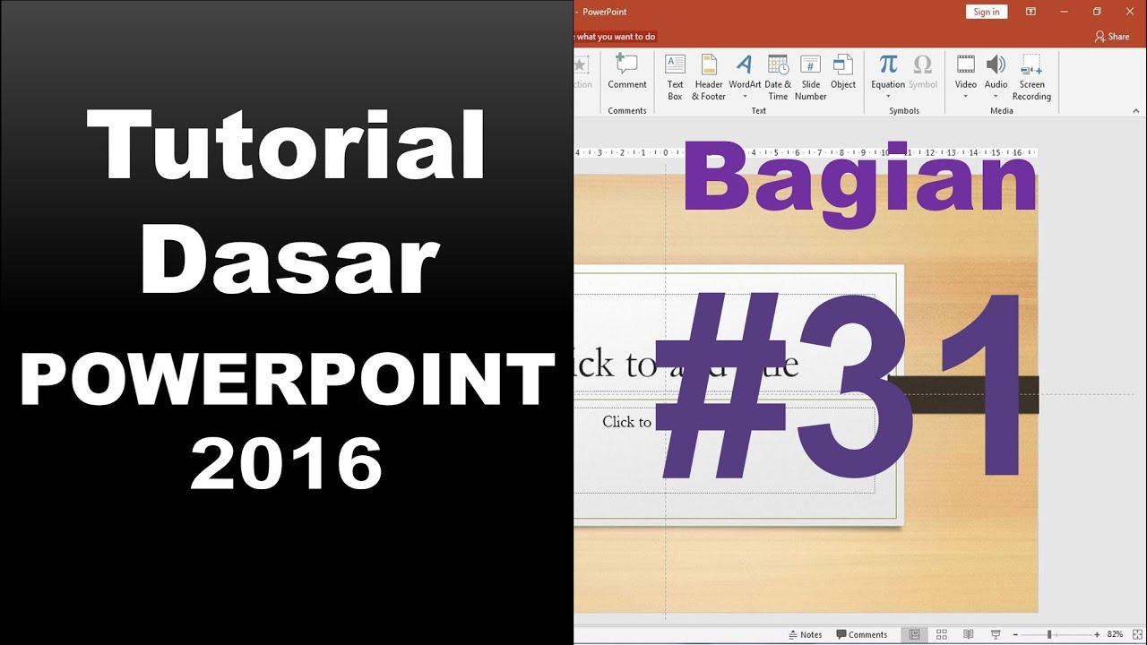 bagaimana cara membuat format teks seperti kolom koran di slide ...