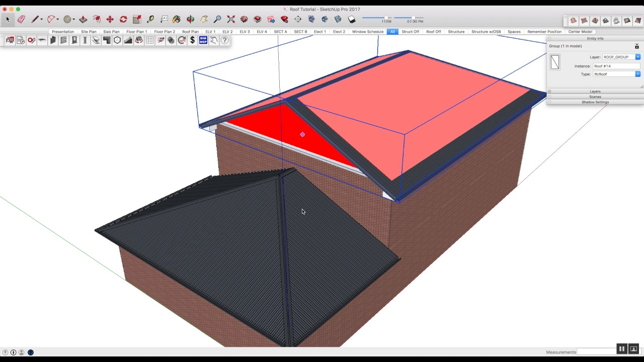 editing pitched roofs with plusspec for sketchup youtube rh youtube com
