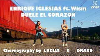 Duele el corazon/Enrique Iglesias ft. Wisin/Zumba choreography by Lucija