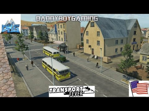 Transport Fever EP 21 USA Bus Overhauls