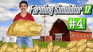 SAATTE 1 MİLYON EURO KAZANMAK | Farming Simulator 17 #4