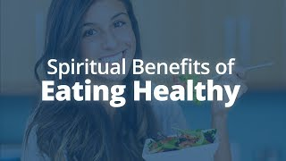 Today i want to talk you about the connection between your spiritual growth and foods eat. eating healthy not only feeds body, it mi...