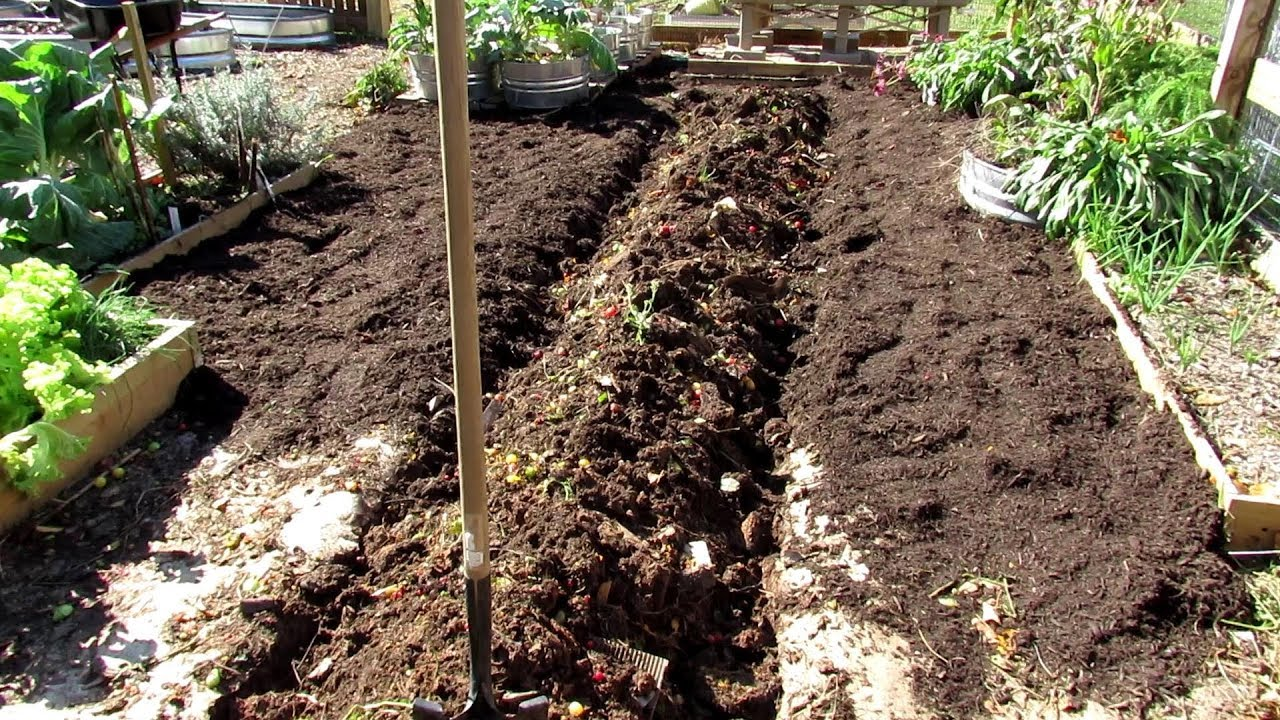 How To Easily Organically Prepare Your Garden Earth Beds For
