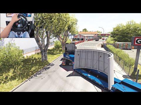 Man TGX Euro 6 - Corsica | Euro Truck Simulator 2 | Logitech G29 Gameplay