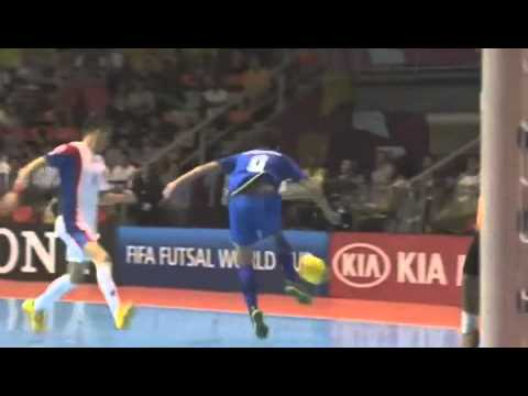 FIFA Futsal World Cup 2012 | Thailand 3 - 1 Costa Rica