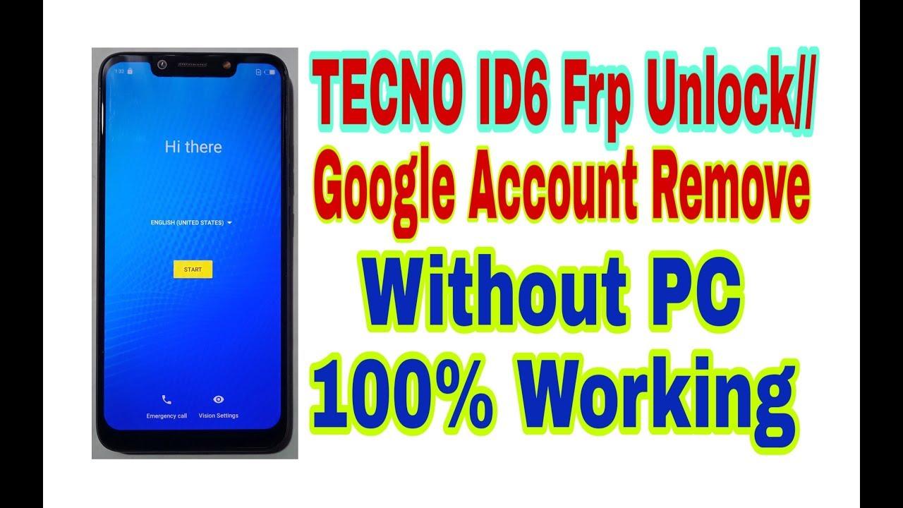 Tecno ID6(64+4)F1 Frp Unlock Without PC//100% Working By Tech Babul