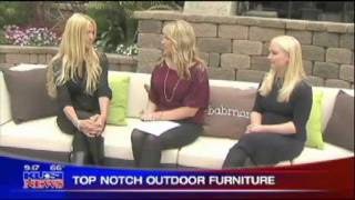 Babmar - Top Notch Outdoor Furniture - Natasa Burnett - Kusi News Interview With Host Bridget Naso