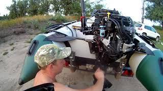 замена Масла и Фильтра  лодочного мотора Suzuki DF15A часть 1