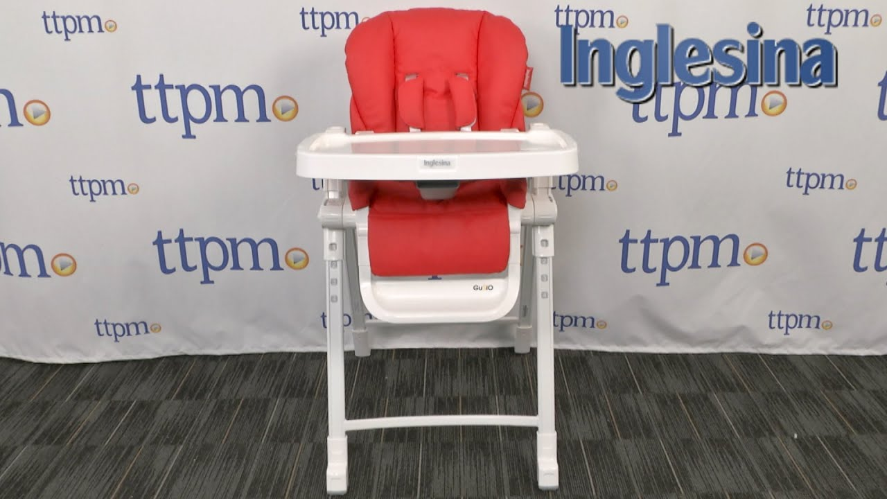 Gusto High Chair From Inglesina Youtube