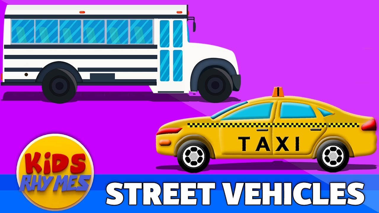 street-vehicles-cartoon-cars-for-kids-learning-video