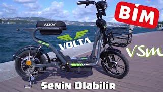 Volta #VSM Senin Olabilir! BİM'de satılacak elektrikli bisikleti İNCELEDİM