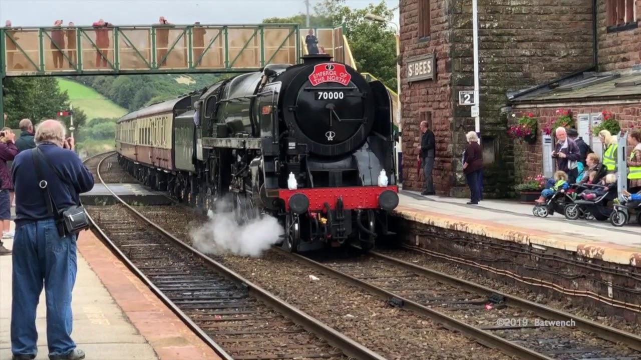 BR Standard Class 7 70000 Britannia 14th August 2019