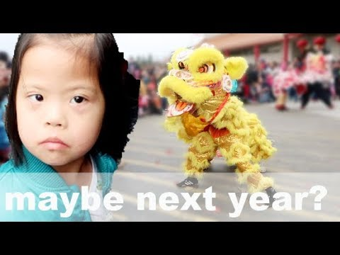 She did NOT like it!!! | Chinese New Year 2018