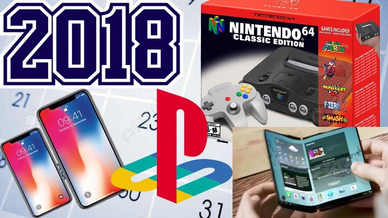 2018 Tech LEAKS! - iPhone X Plus, Galaxy X, PlayStation 5, Nintendo 64 CLASSIC, Galaxy S9 & more ...