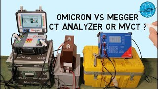 OMICRON vs  MEGGER | CT Analyzer or MVCT