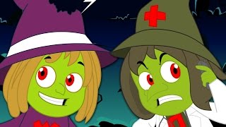 Five Wicked Witches | Nursery Rhymes For Children | Kids Songs And Videos