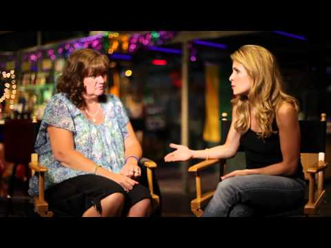 Sally Pressman from Army Wives s Paulette Nelson, USO Volunteer  Part 2