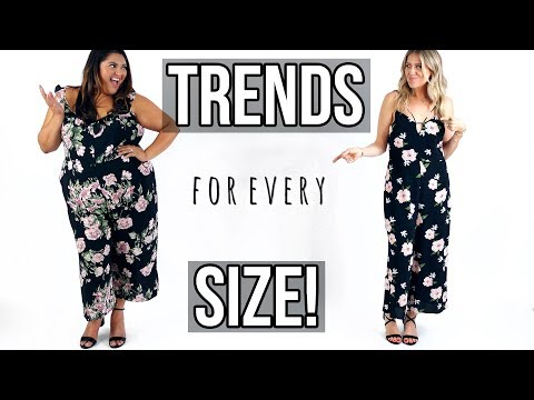 Summer Trends For Every Size | Plus & Straight Size Haul!