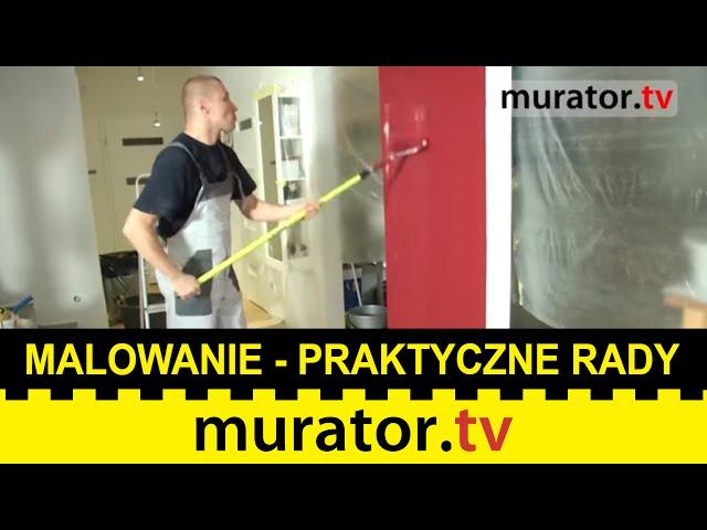 Tajniki malowania ścian. Radzi ekspert Akademii Technik Malarskich