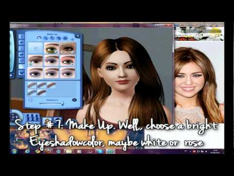 • CreationSims • How to create Miley Cyrus as a Sim