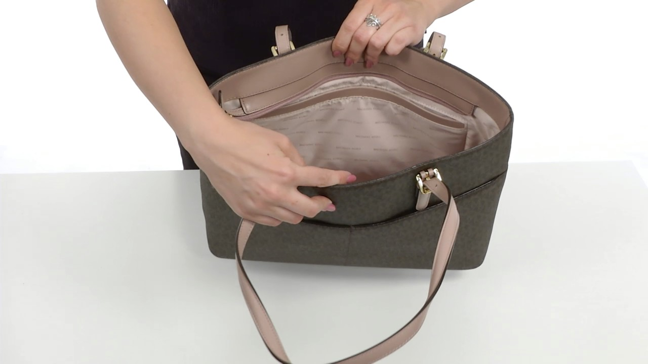 727406d6165a MICHAEL Michael Kors Bedford Large Pocket Tote SKU 8902989 - YouTube