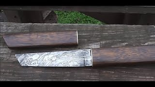 Как сделать ножик в японском стиле ( подобия танто)