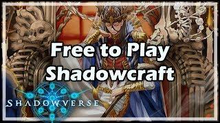 [Shadowverse] Free to Play Shadowcraft #ad