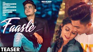 Faasle Teaser Siddharth Sachdeva Rel on 9 Nov White Hill Music