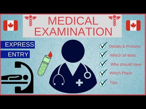 👨🏻‍⚕️👨🏼‍🔬 Medical Exam For Canada PR