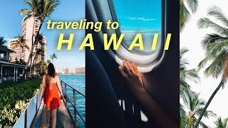 TRAVELING TO HAWAII // my first time!!!