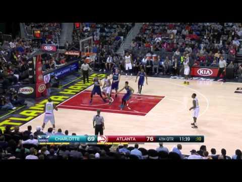 Charlotte Hornets vs Atlanta Hawks | October 30, 2015 | NBA 2015-16 Season