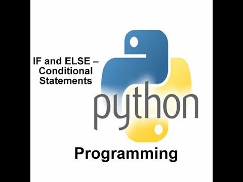 Lesson 5 PYTHON PROGRAMMING  IF CONDITIONAL STATEMENTS