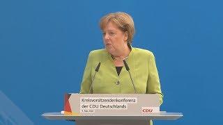 """Angela Merkel: """"Wir bleiben dem Iran-Abkommen verpflichtet"""""""