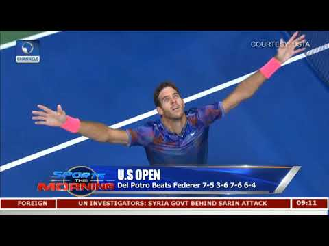 Nadal Through To US Open Final As Del Potro Stuns Federer Pt.2 |Sports This Morning|