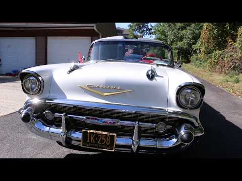 1957 Chevrolet Belair Convertible For Sale 283 V8 Motor Auto