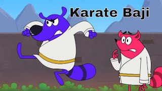 Pyaar Mohabbat Happy Lucky - Ep.13 | Karate Baji | Hindi Animated Cartoon Show | ZeeQ