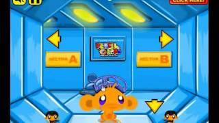Прохождение игры Monkey go happy sci-fi 2 (Счастливая обезьянка научная фантастика)