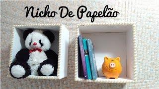 DIY: NICHOS DE PAPELÃO