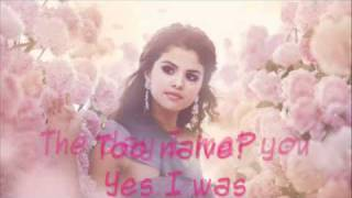 Selena Gomez & The scene Ghost of you lyrics
